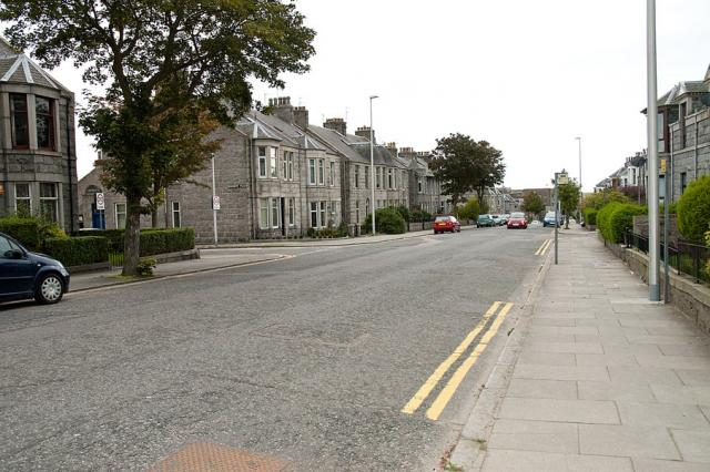 Street: Note bus stop on opposite side of road